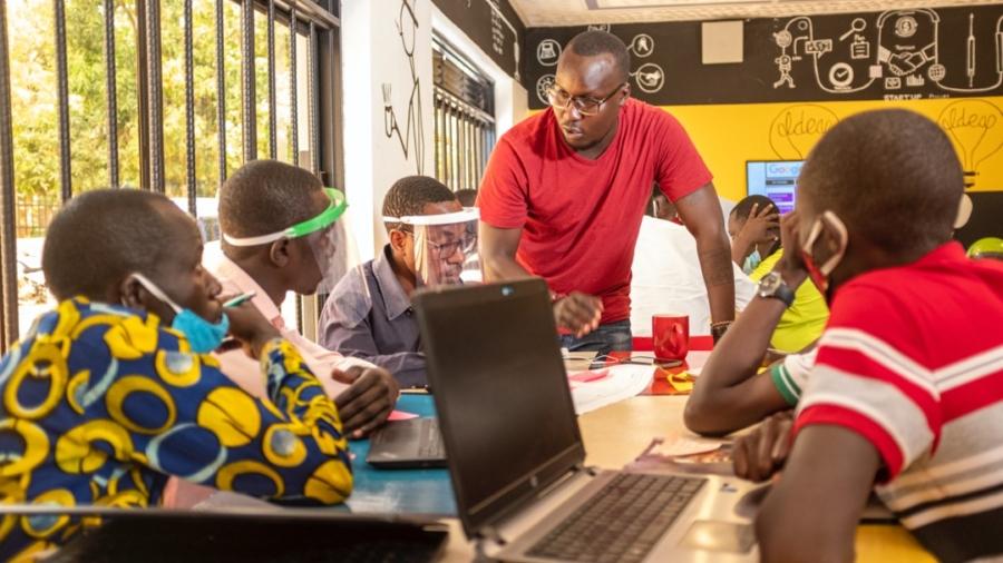 Founders4Founders training in Gulu